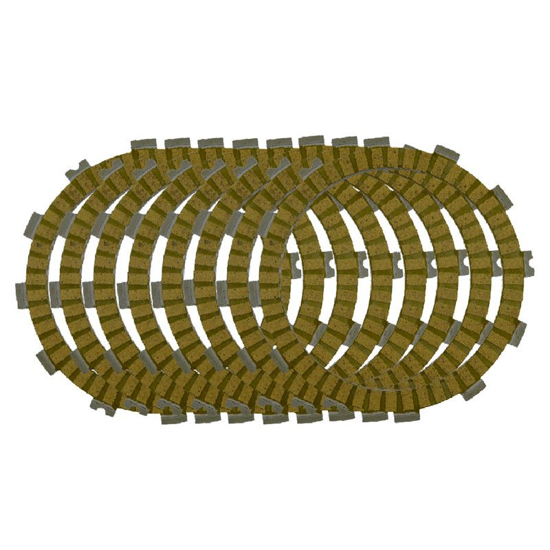 Motorcycle Clutch Friction Plates Set for HONDA CRF450R CRF450 R 2002-2010 Clutch Lining #CP-00037