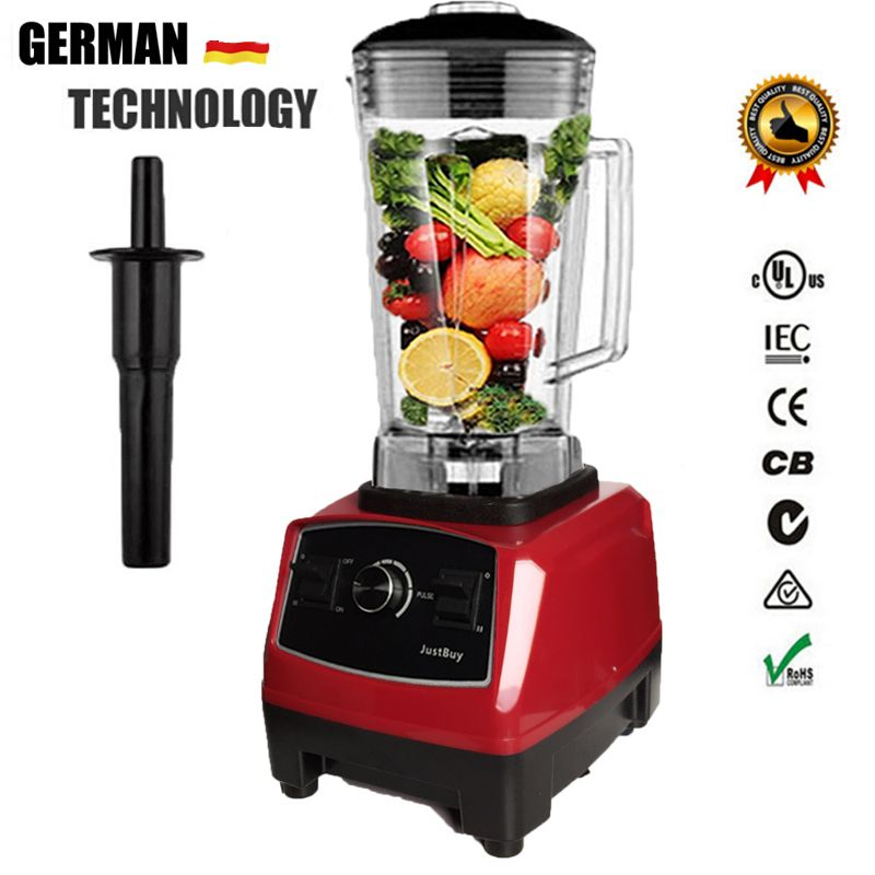 2200W BPA free 3HP 2L Heavy Duty Commercial Blender Professional Power Blender Mixer Juicer Food Processor Japan Blade