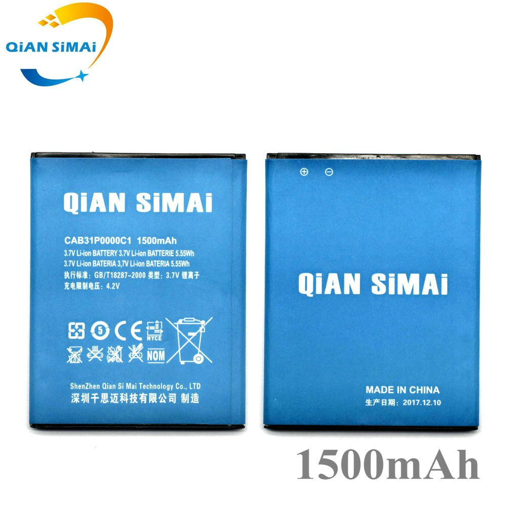 QiAN SiMAi CAB31P0000C1 Battery For Alcatel M'Pop 5020 5020D 4012 4012A 4012X 4007D Pixi 3 4.5