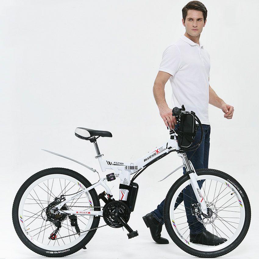 2016 echt Top Fasion 31-60 km Legierung 26 zoll 251-350 watt 48 v 26 zoll Klapp elektrische Fahrrad mit 48 v Lithium-batterie