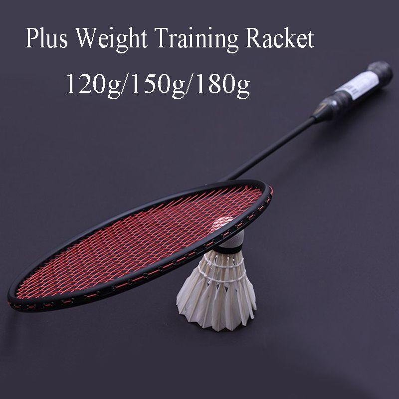 LOKI 120g/150g/180g Professionelle Plus Gewicht Carbon Badminton Schläger Handgelenk Krafttraining Badminton Schläger