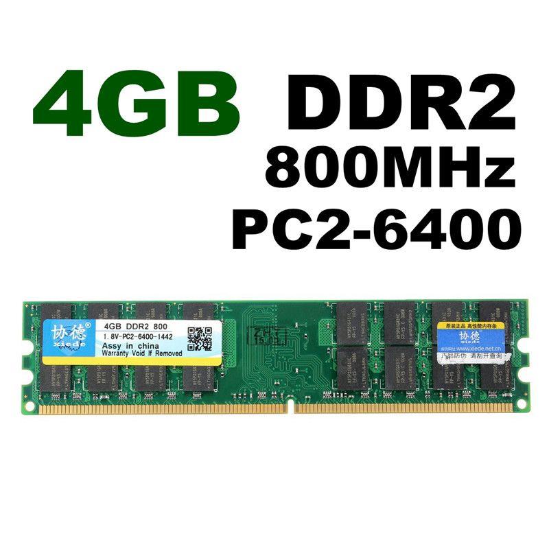 Marke Neue 4 GB Ddr2-speicher RAM 800 Mhz Einzigen PC2 6400 DIMM 240Pin Für AMD Chipset Motherboard Desktop Hight qualität
