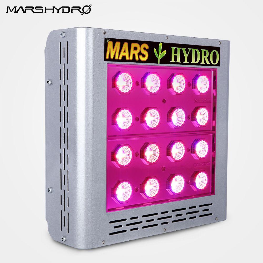 Mars ProII Epistar 80 LED Wachsen Licht Gesamte Spektrum Hydrokultur für Gewächshaus 166 Watt Veg Bloom Schalter
