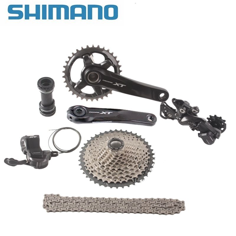 SHIMANO DEORE XT M8000 1x11 Speed 11-40T 11-42T 11-46T MTB Groupset Bicycle Kit Shifter Lever/ Rear Dearilleur /Cassette / Chain