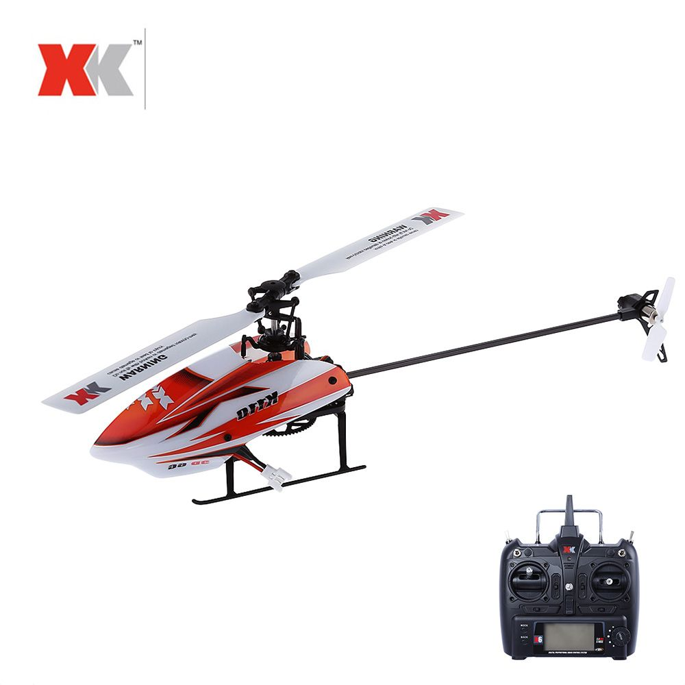 XK K110 RC Helicopter 3D6G System 6CH Radio Control Brushless RC Toy VS Wltoys V977 For Children RC Drone Funny Gift