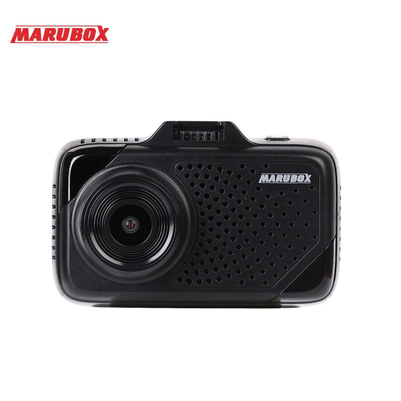 Marubox M650R car dvr radar detector gps 3 in 1 HD1296P 170 Degree Angle Russian Language Video Recorder logger free shipping