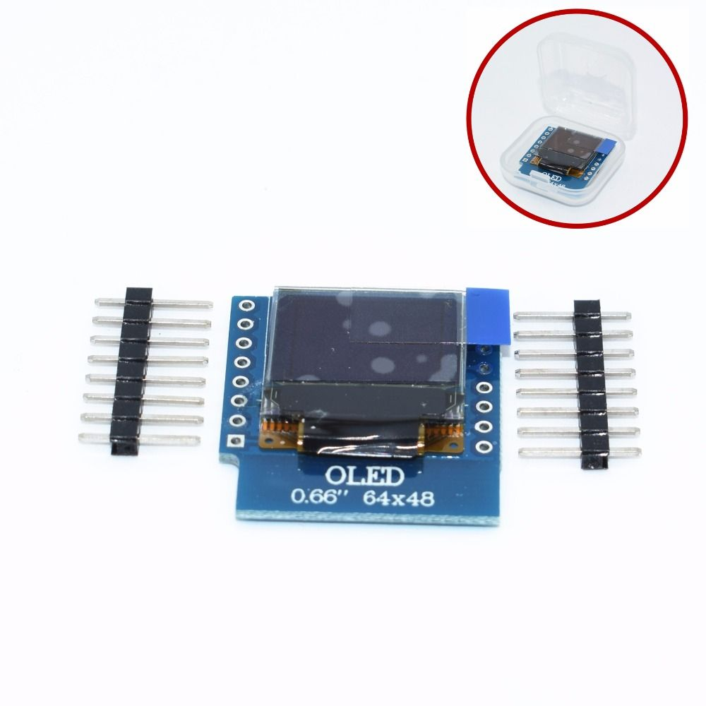 OLED Schild Für WeMos D1 Mini IIC I2C IOT 0,66