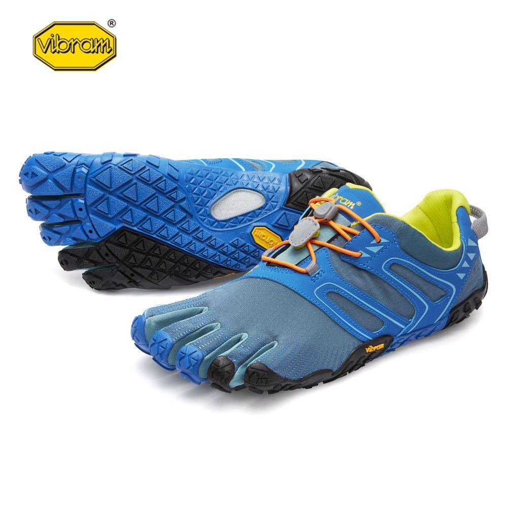 Vibram fivefingers V-TRAIL Hot Sale Design Rubber Five Fingers Outdoor Slip Resistant Breathable Light weight Shoe for Men