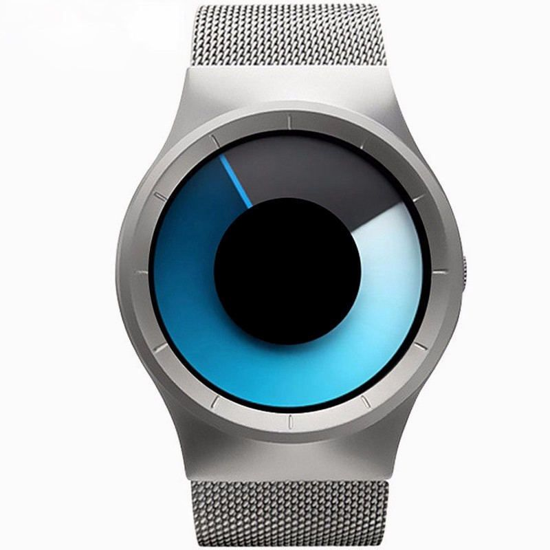 Creative Fashion Watches Men's & Women Bracelet Watches Ultra Thin Stainless Steel Mesh Band Casual <font><b>Quartz</b></font> Wristwatch