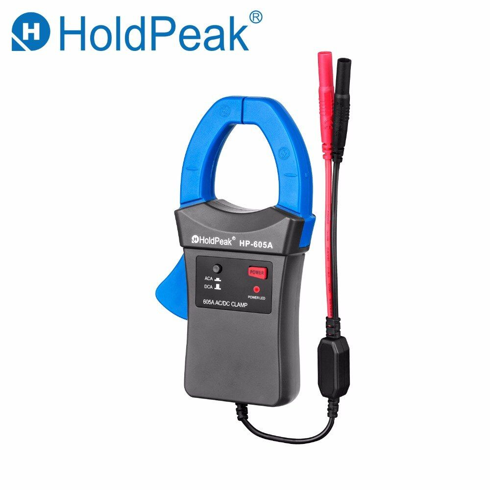 Holdpeak HP-605A Clamp Adapter 600A AC/DC Current Power LED 45mm Jaw caliber HoldPeak Digital Clamp Multimeter for HP-890N