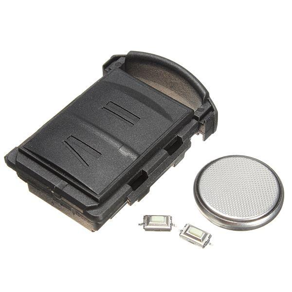 2 Knöpfen Fernschlüssel Fob Fall Shell Schalter + DIY Reparatur Kit Für Vauxhall Opel Corsa Combo