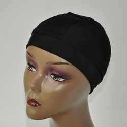 5pcs/lot Black Spandex Dome Caps For Making Wig Snood Nylon Strech Wig Cap High&Tight Band Full Size For The Perfect Fit Wig Cap