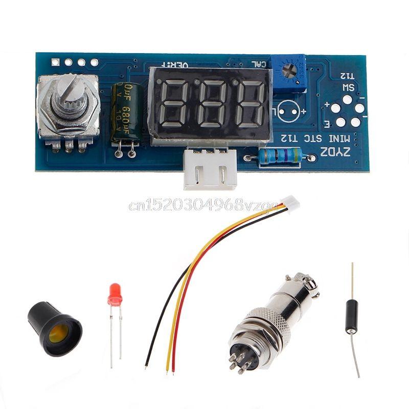 Digital Soldering Iron Station Temperature Controller Kits For HAKKO T12 Handle #H028#