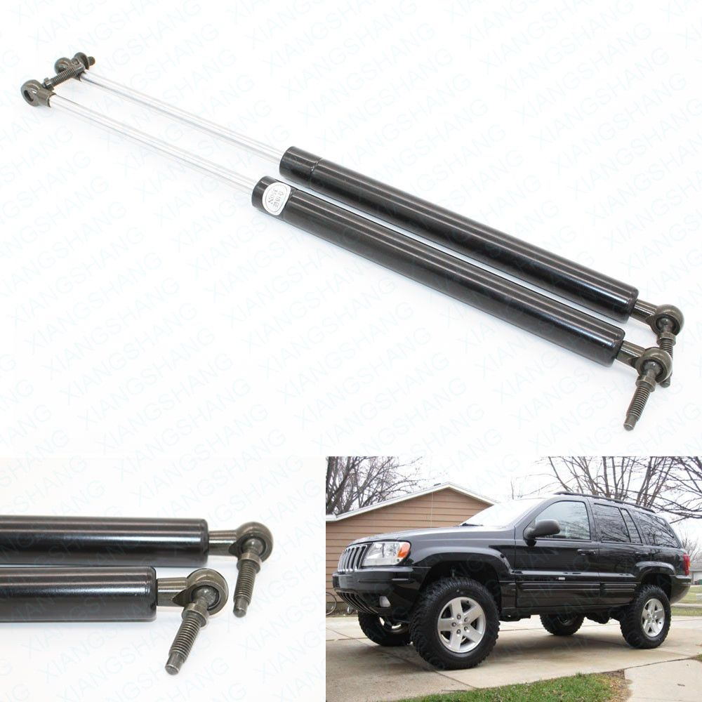 2pcs Rear Tailgate Boot Gas Charged Struts Lift Support For 1999 2000 2001 2002 2003 2004 Jeep Grand Cherokee Damper