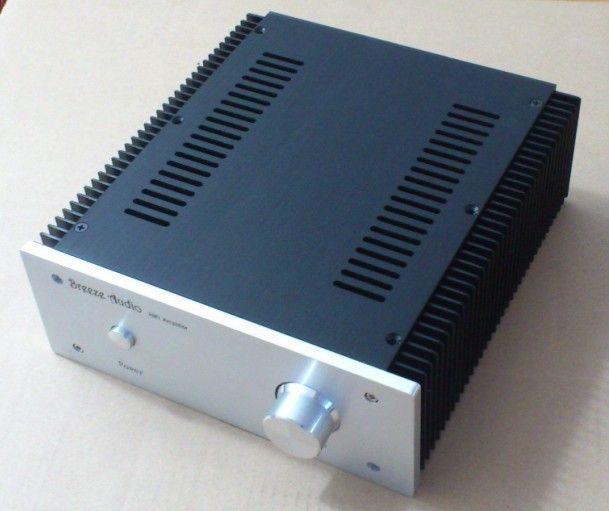DIY AMP fall 240*90*257mm 2409 Alle aluminium verstärker chassis/Klasse A verstärker fall/geeignet für installation 10W1969 schaltung