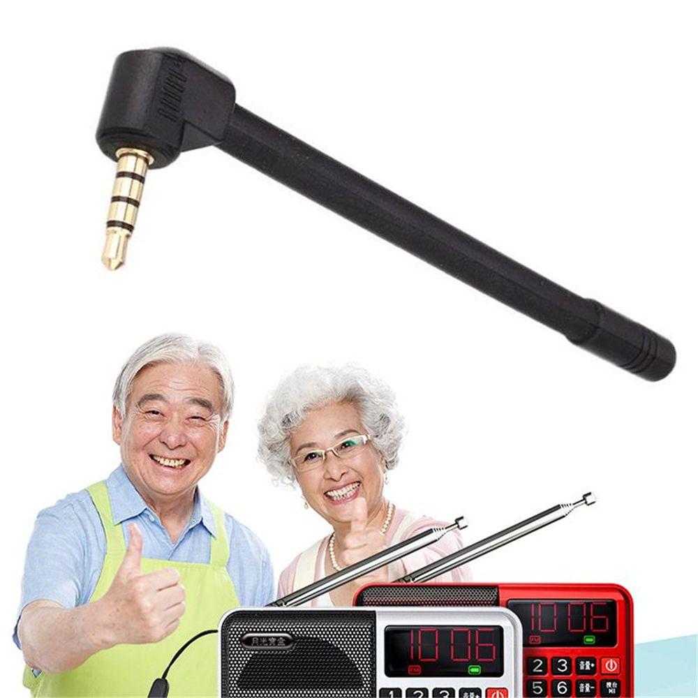 Gizcam Univesal Smartphone Radio Stärken Signal Booster Externe Wlan-antenne Mini 3,5mm Jack