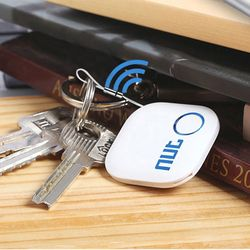 Original Nut2 Bluetooth Key Finder, Smart Wireless Tracker Nut2 Smart iTag Wireless Llavero Anti Perdida Locator Luggage Tracker