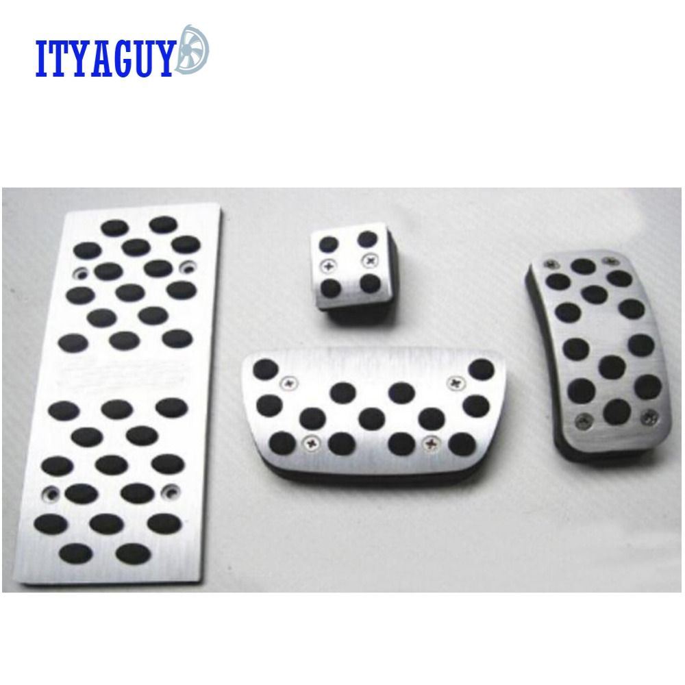 Car styling Pedal Pads Brake Clutch Accelerator Gas Pedals Covers For Lexus RX 270 350 450 300 IS250 IS300 IS200 with LOGO