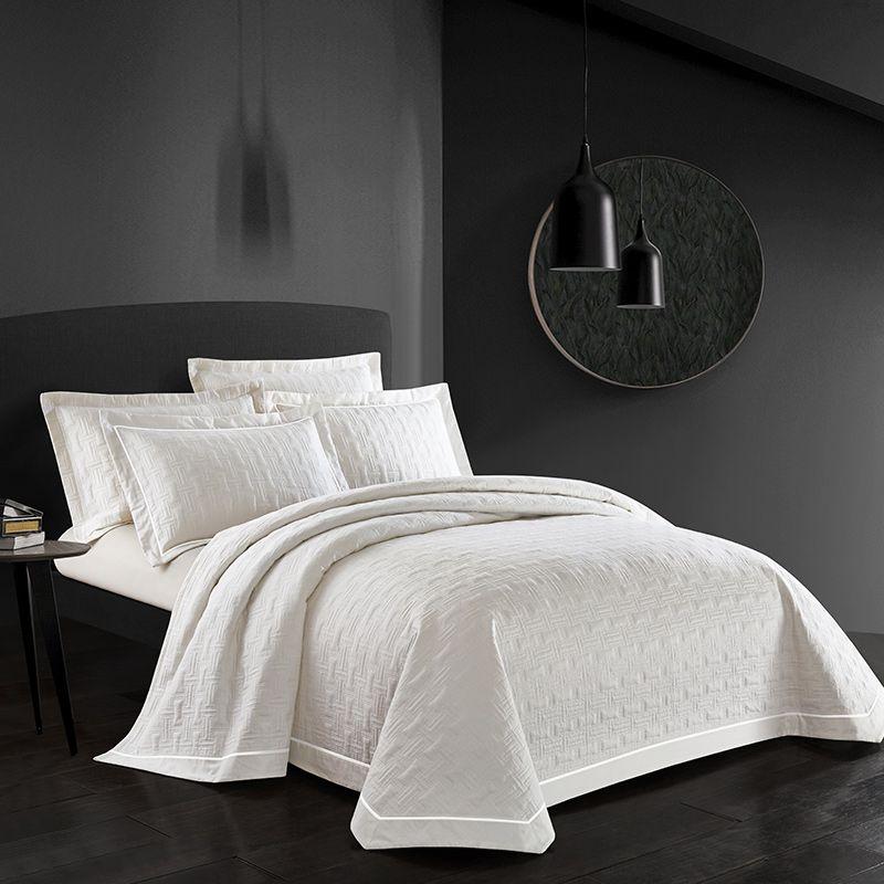 Famvotar Chic Geometrische Muster Stepp Bettdecke 100% Baumwolle Reversible Stepp Bettdecken Premium 5 Sterne Hotel Bett Verbreiten