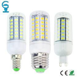 Bulbo De Milho LEVOU E27 E14 G9 CONDUZIU a Lâmpada 220 V 110 V LED Light Bulb 24 36 48 56 69 bombillas LEDs Ampola De Vela do Candelabro Lampada