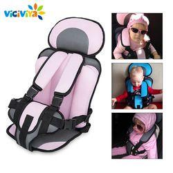 Asiento de coche de bebé ajustable Niño seguro asiento asientos silla de bebé portátil en los coches para 6 meses- 5 años