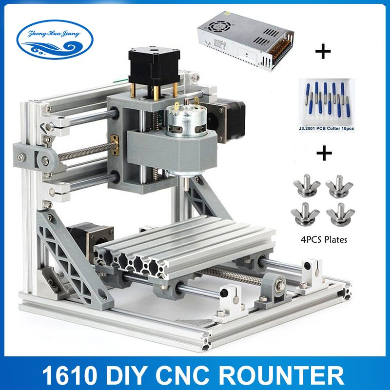 GRBL control Diy 1610 mini CNC machine,working area 16x10x3cm,3 Axis Pcb Milling machine,Wood Router,cnc router