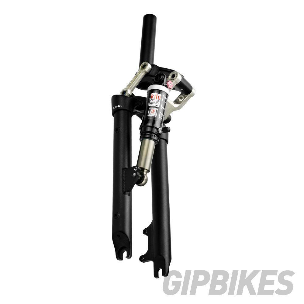 Deutsch a 20 zoll air druck vier-bar verknüpfung mit Stoßdämpfer Folding Bikes gabel FAA075 JP8 JP9 JEX