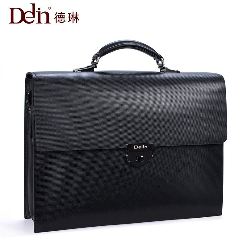 delin 92 De Lun code lock business Bao Bao Wen bag handbag, leather man bag big <font><b>capacity</b></font> cross