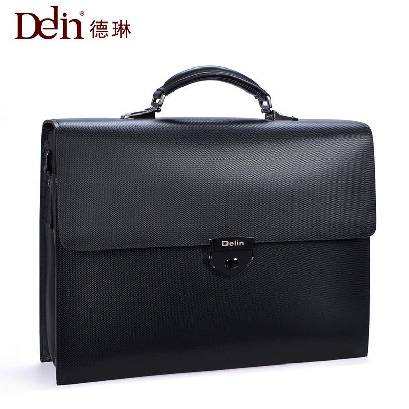 delin 92 De Lun code lock business Bao Bao Wen bag handbag, leather man bag big capacity cross