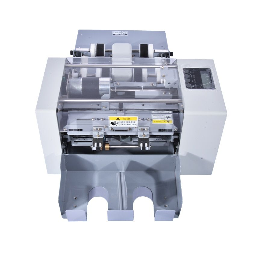 A4 Size Automatic Business Card cutting machine Cutter Multi-Function Electric Paper Slitting Machine,Paper Trimmer SSA-001