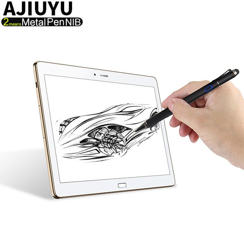 Active Pen Stylus High-precision Touch screen Chargeable Capacitive iOS Android Windows 10 Tablet Mobile phone Laptops Capacitor