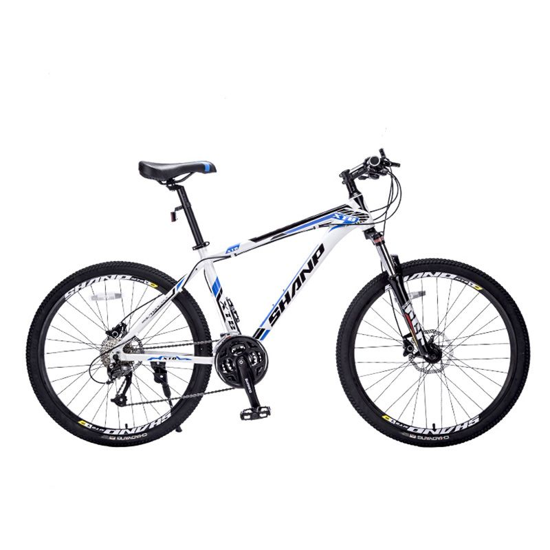 SHANP Mountain bike aluminum frame 27 speed Microshift 26
