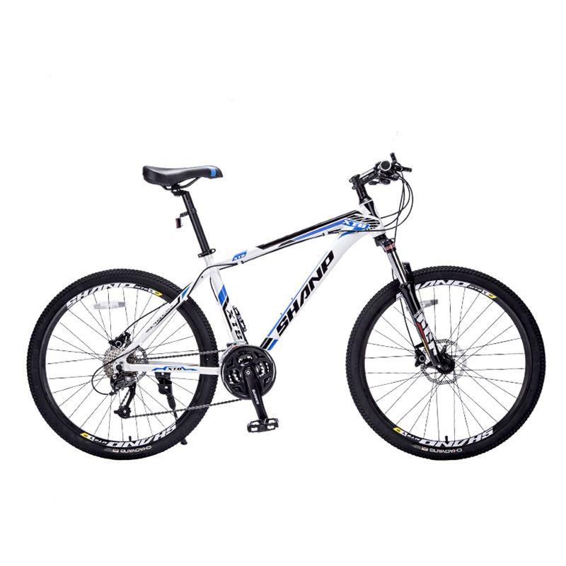 SHANP Mountain bike aluminum frame 27 speed Microshift 26