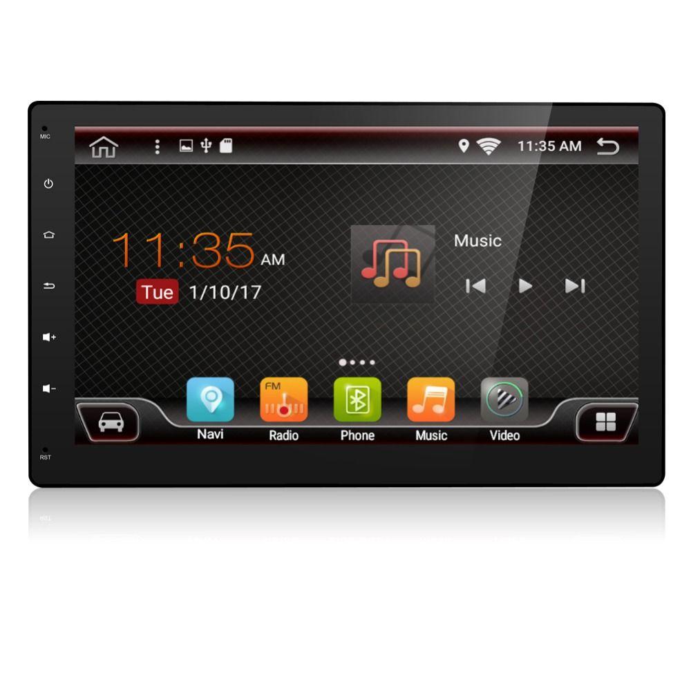 10.1 дюймов Универсальный 2 DIN Android 6.0 dvd-плеер автомобиля GPS + WiFi + Bluetooth + Радио + 1 ГБ процессор + DDR3 + емкостный Сенсорный экран + 3 г + 4 г + аудио