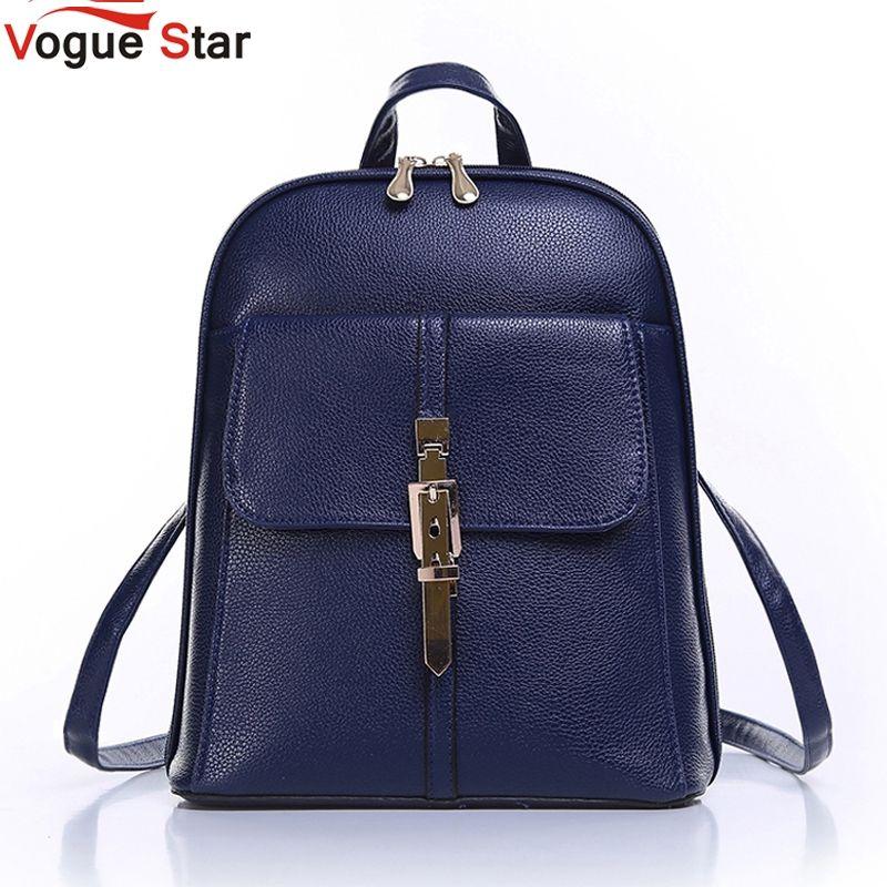 Vogue Star 2018 backpacks women backpack school bags students backpack ladies women's travel bags leather package YA80-173