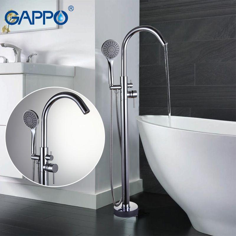 GAPPO Bathtub Faucets bathroom faucet bathroom taps Brass bathtub mixer bath mixer sink faucet waterfall faucet GA3098