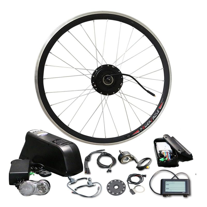 Powerful 48V 10/12/16Ah with Battery 500W 350W LCD900 Electric Motor LG SAMSUNG Bottle Cell Bike Conversion Kit MTB Road Bicycle
