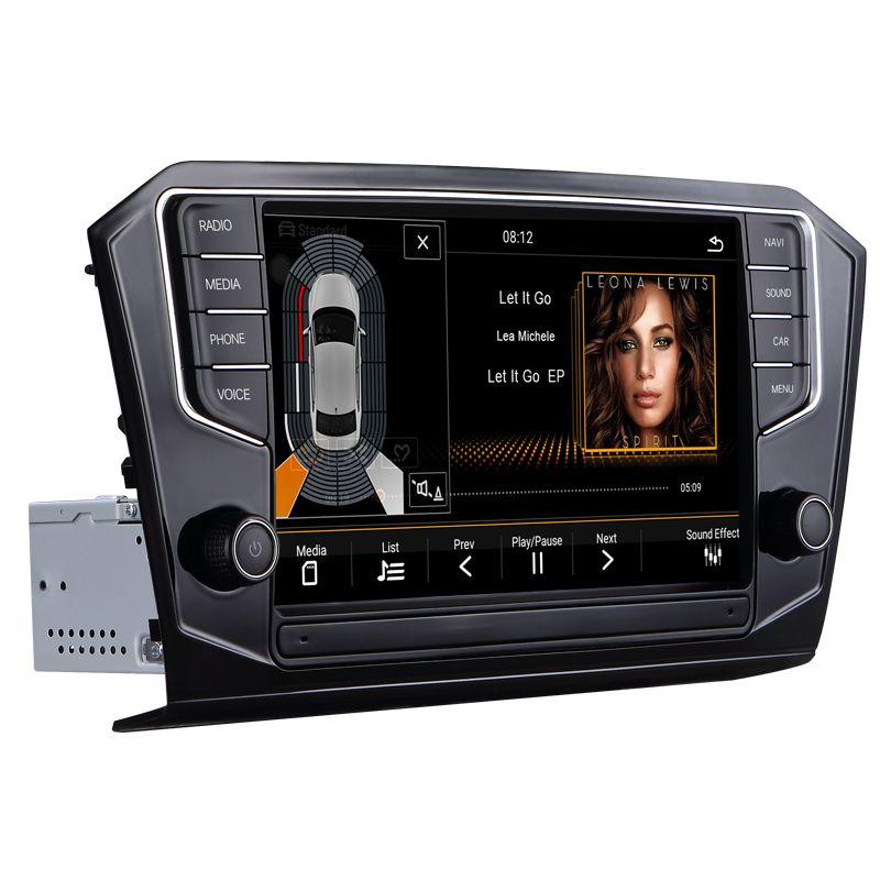 Auto radio navigation system auto multimedia video android auto dvd für VW PASSAT B8 2015-2018 9