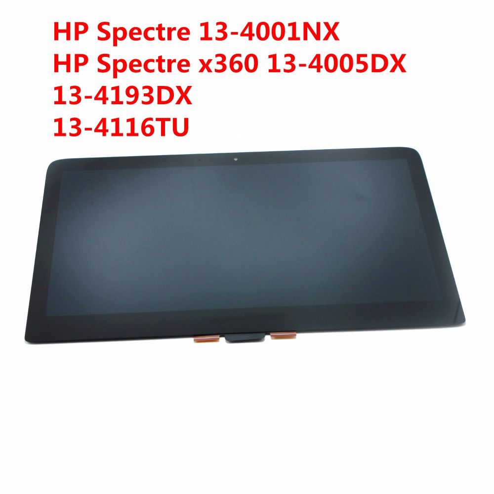 2560X1440 Laptop LCD screen Assembly For HP Spectre x360 13-4116TU 13-4005DX LCD display 13.3