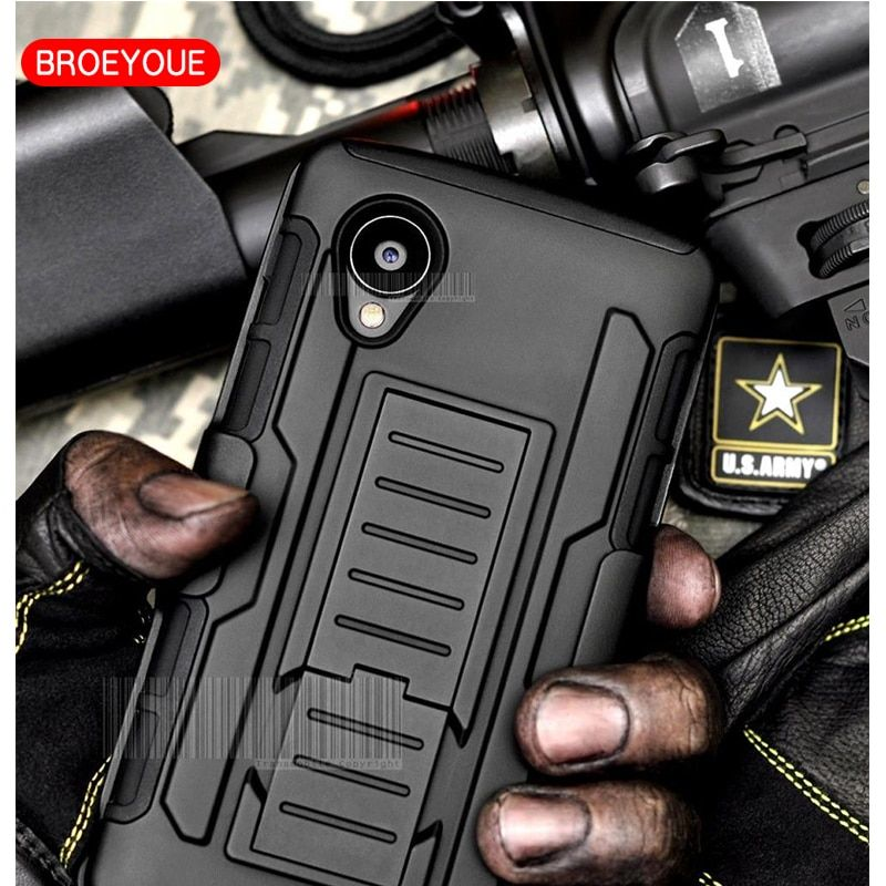 BROEYOUE For LG Nexus 5 Case Rugged Armor Hybrid Shockproof Holster Hard Case For LG Nexus 5 4 6 Mobile Phone Protective Cover