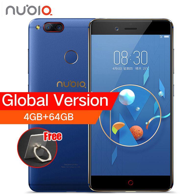 ZTE Nubia Z17 Mini Double Retour Caméra Smartphone 4 GB/6 GB RAM 64 GB ROM 5.2 pouces Snapdragon 652 MSM8976 Double Cartes SIM Mobile téléphone