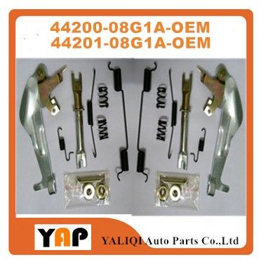 ADJUSTER ASSY-REAR BRAKE REAR Right/Left FOR FITNISSAN URVAN FRONTIER E25 D22 D21 QR25 KA24 Z20 ZD30 2WD 44200-08G1A 44201-08G1A