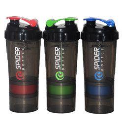 500 ML Protein Shaker Blender Mixer  Water bottle Sports Fitness gym 3 Layers Multifunction 600ml BPA free Shaker Bottle F5