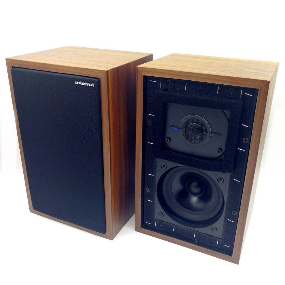 Mistral LS3/5A 11 Ohms 50 w x 2 Moniteur Haut-parleurs LS35A hifi haut-parleurs d'étagère (Paire)