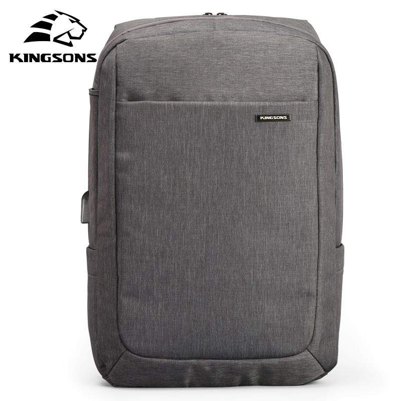 Kingsons <font><b>Shockproof</b></font> Air Cell Cushioning Bag Laptop Tablet Backpack Male & Female Overnighter Waterproof Anti-theft Mochila