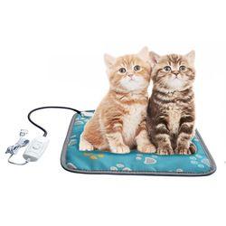 Anjing Peliharaan Kucing Pemanas Listrik Pad Tahan Air Pemanasan Tikar dengan Mengunyah Baja Tahan Kabel TB Dijual