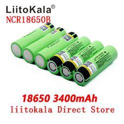 2019 умное устройство для зарядки никель-металлогидридных аккумуляторов от компании LiitoKala: новый оригинальный NCR18650B 34B 3,7 в 18650 3400 мАч литий-ион...