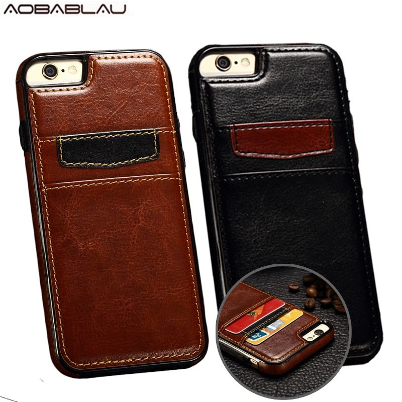 Fundas Luxury Retro Wallet Cover For iphone 7 Case 4.7