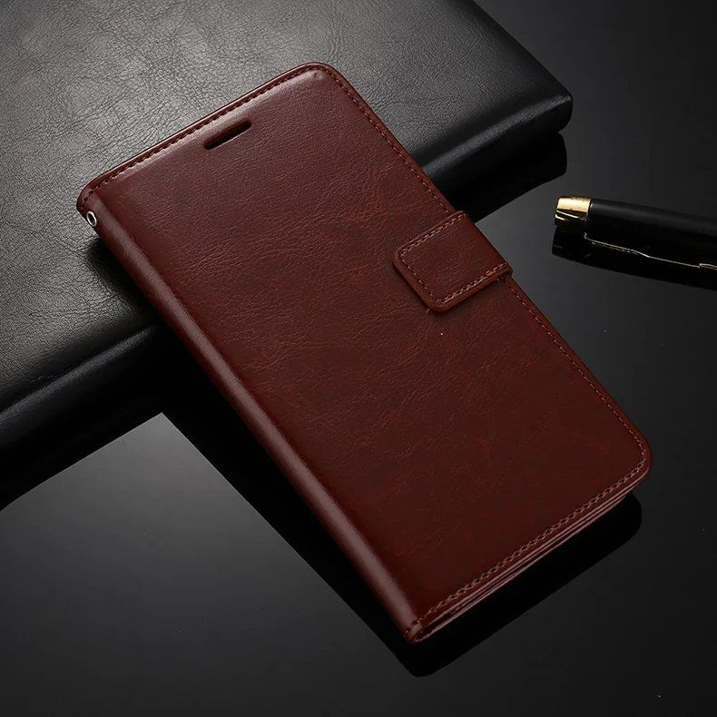 HQ PU Leather Case for LeTV LeEco Le Pro 3 Pro3 Dual Cameras AI Edition LEX650 X650 X651 Slim Luxury Wallet with Flip Stand