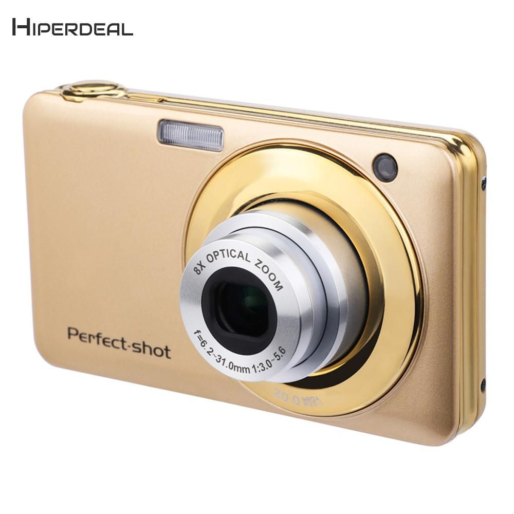 HIPERDEAL Fashion 2.7 Inch LCD Screen 20MP 8X Optical Zoom Digital Camera Telescopic lens with Flash LED Camcorders BAY16
